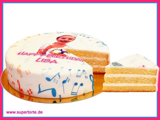 Die Fototorte aus dem Internet ist das ganz persönliche Geburtstagsgeschenk copyright: Supertorte.de