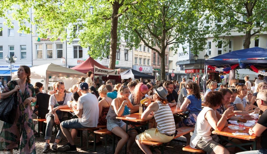 Beim gamescom city festival wird es wieder ein großes Streetfood-Festival geben copyright: ganescom