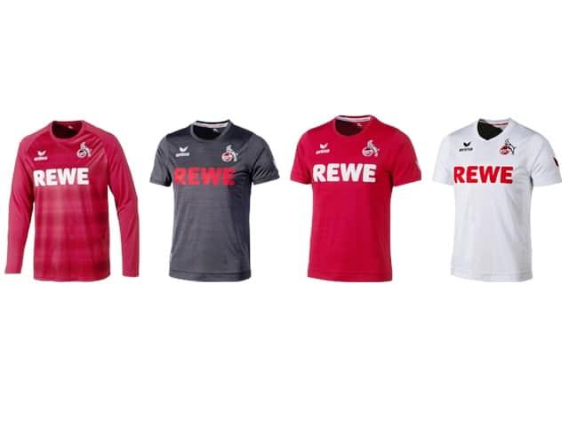 Die neuen Trikots des 1. FC Köln - Klassisch effzeh und Kölner Melanche copyright: 1. FC Köln