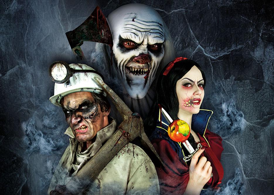 Zu den Halloweenwochen gibt es Horror XXL - copyright: Grusellabyrinth NRW
