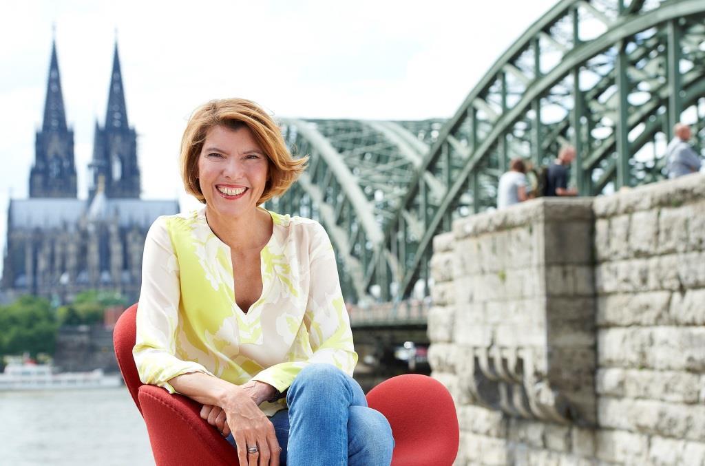 """Bettina Böttinger: """"Ich fühle mich als Kölnerin ..."""" copyright: WDR / Melanie Grande"""