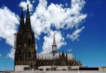 Domwallfahrt 2018: Kölner Dom erstrahlt im spektakulärem Licht copyright: CityNEWS / Alex Weis