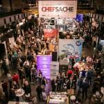 CHEF-SACHE 2016 in Köln. Cooles Programm. Mehr Aussteller. Mehr Gäste. Tolle Partys. copyright: CHEF-SACHE