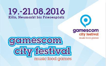 Einfach downloaden und ausdrucken: Das Programm zum gamescom city festival 2016 copyright: gamescom