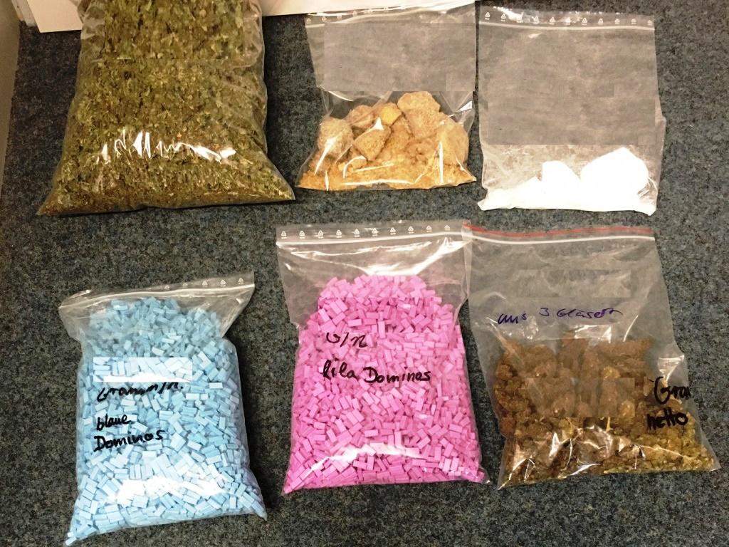 Vier Kilo Drogen in Köln-Ehrenfeld sichergestellt - Festnahme! copyright: Polizei Köln