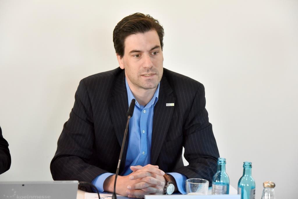 Dr. Maximilian Schenk, Geschäftsführer des BIU – Bundesverband Interaktive Unterhaltung, Träger der gamescom copyright: Koelnmesse GmbH / Thomas Klerx