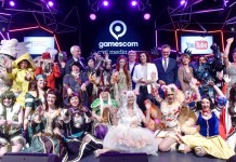 Lasst die Spiele beginnen: gamescom 2016 offiziell eröffnet copyright: Koelnmesse GmbH, Thomas Klerx