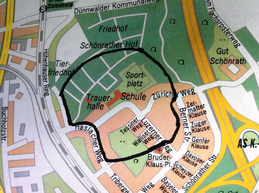 In dem zu evakuierenden Gebiet leben rund 600 Personen. copyright: Stadt Köln
