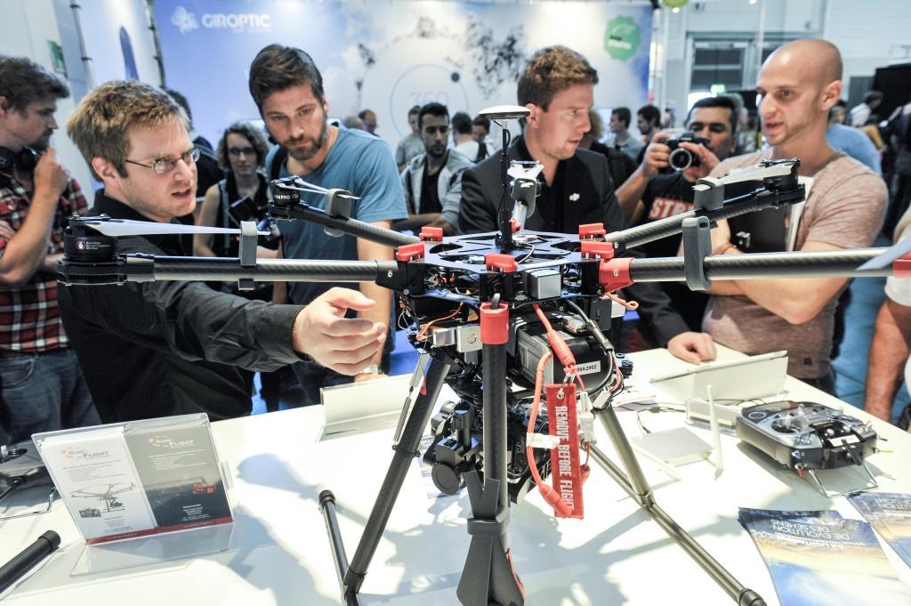 Drohnen ermöglichen ganz neue Perspektiven copyright: Koelnmesse