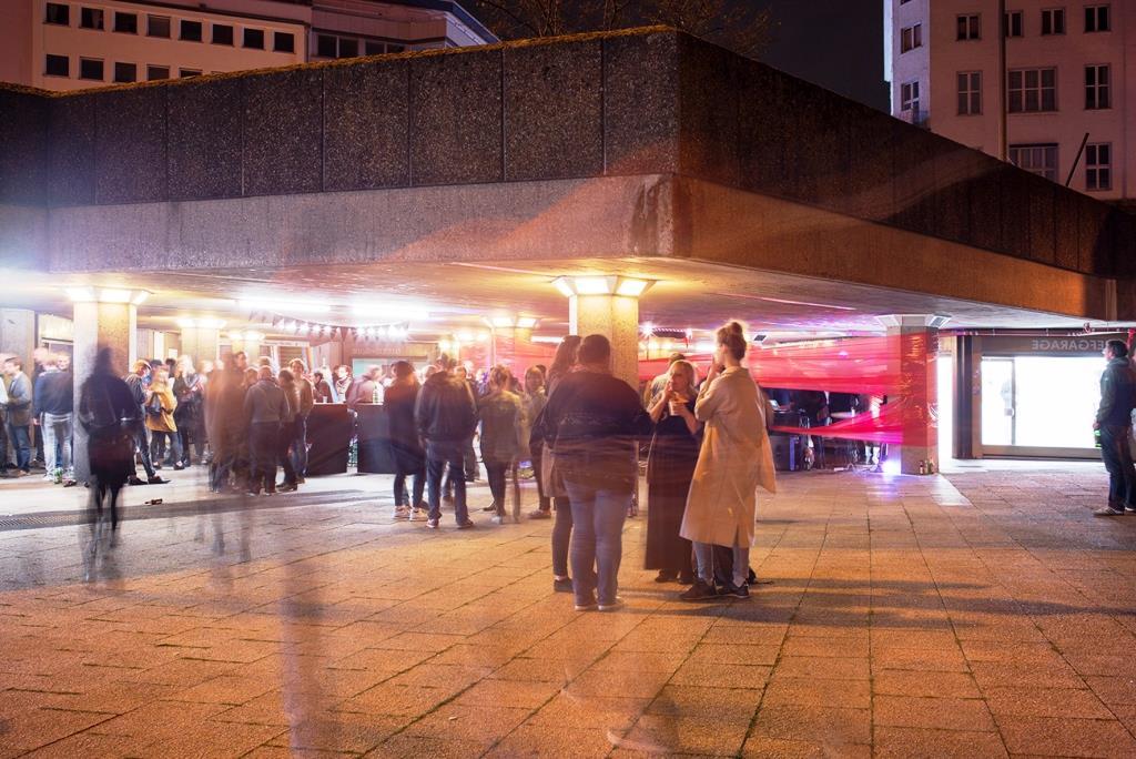 Auch ein bisschen Untergrund, auf jeden Fall aber einer von Kölns aufregendsten Off-Spaces, ist der Museumsnacht-Neuling Ebertplatzpassage. copyright: Martin Plüddemann