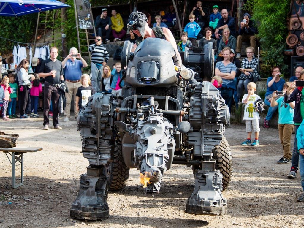 Roboter und Maschinen ... copyright: Alex Weis / CityNEWS