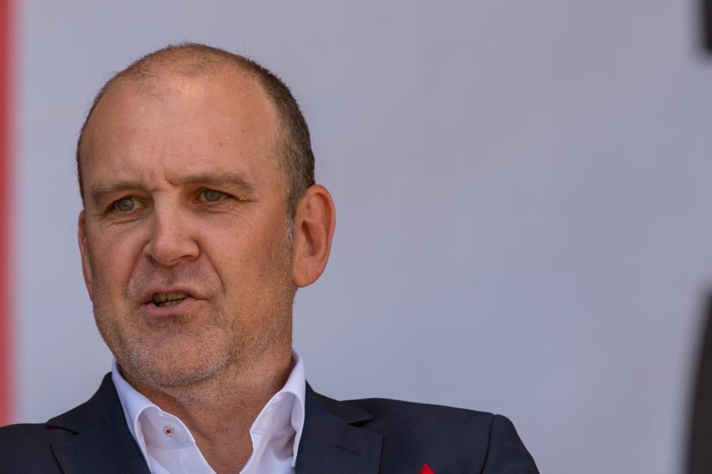 Geschäftsführer Jörg Schmadtke verließ zuerst das sinkende Schiff. copyright: Alex Weis / CityNEWS