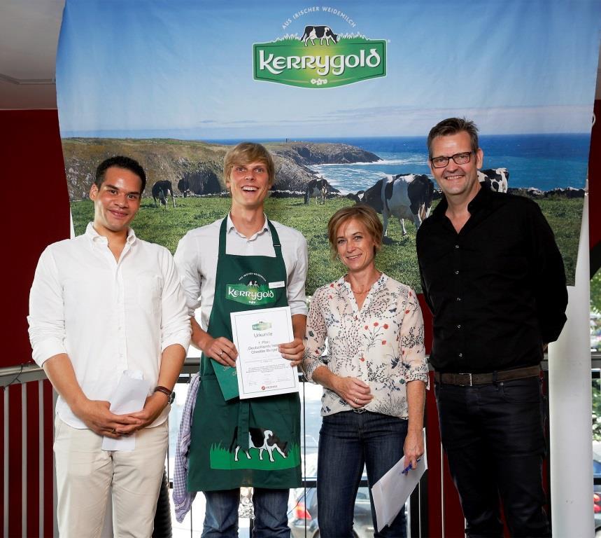 Tim Waldow (27) aus München hat den besten Cheddar-Burger Deutschlands kreiert. copyright: Andreas Costanzo