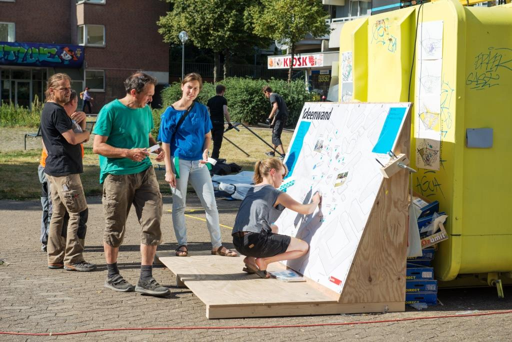 Viele junge Menschen aus Chorweiler zum Beispiel äußerten den Wunsch nach offen zugänglichen Sportmöglichkeiten. copyright: Studio 95 / Stadt Köln