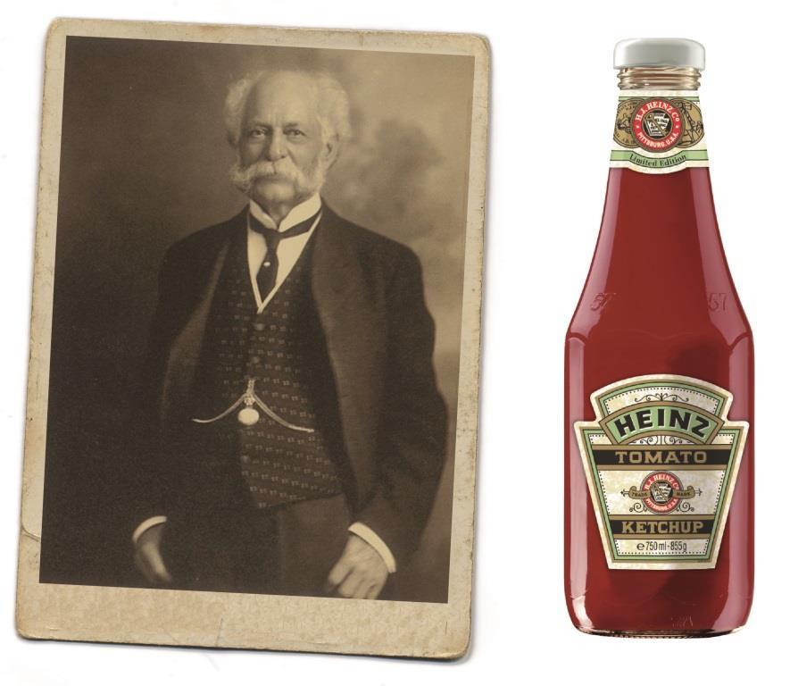 140 Jahre tomatige HEINZ-Tradition copyright: H.J. HEINZ GmbH