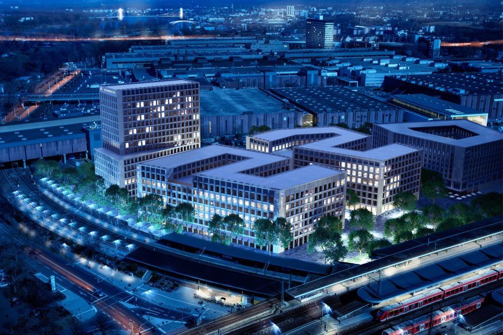 Neues Stadtviertel für Köln entsteht: Erster Spatenstich für MesseCity - copyright: SRE/ECE/HH-Vision