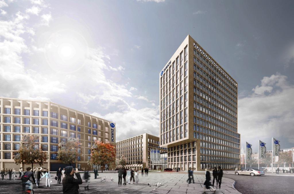 Großprojekt MesseCity in Köln-Deutz - copyright: KSP/SRE/ECE/HH-Vision