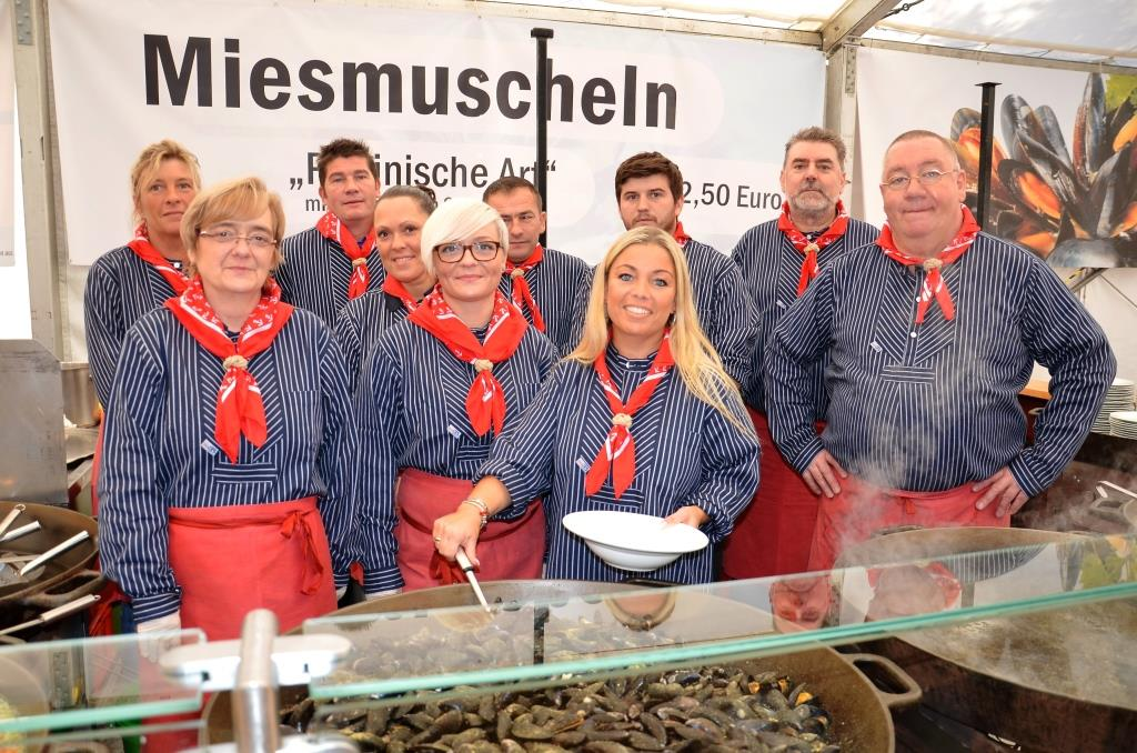 Die Besucher erwartet leckere Muschel-, Fisch- und Meeres-Spezialitäten - copyright: Gritt Ockert, Nieke Veranstaltungen