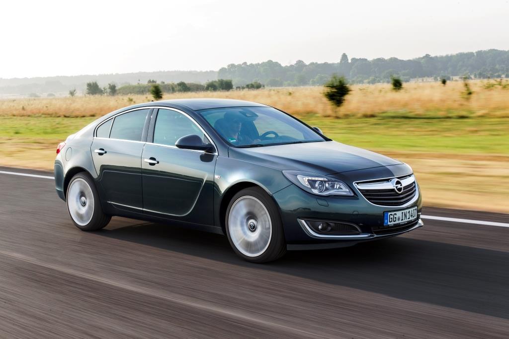 Mit Dampf durchs Mittelklassesegment: Ab 106 Euro pro PS im Opel Insignia copyright: Adam Opel AG