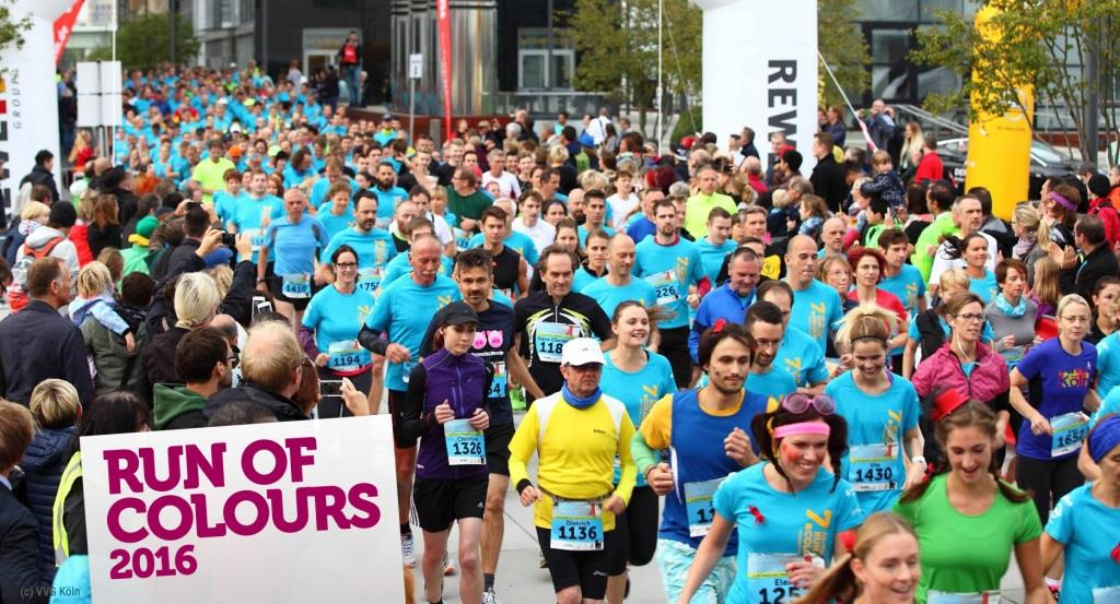1.700 Läufer beim Run of Colours erwartet copyright: VVG Köln