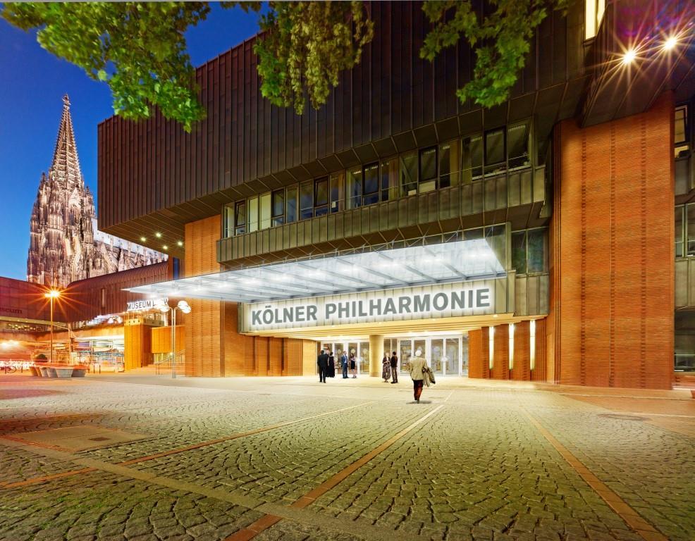 Konzertkarte für Kölner Philharmonie zugleich Eintrittskarte für alle städtischen Museen copyright: Matthias Baus / Köln Musik / BHBVT