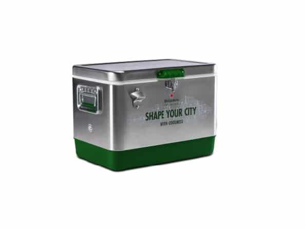 """CityNEWS verlost eine """"SHAPE YOUR CITY"""" Coolbox von Heineken"""