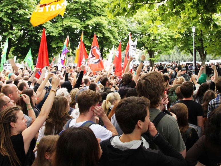 Etwa 40.000 friedliche Teilnehmer bei Anti-TTIP- und Ceta-Demo in Köln (Symbolbild) copyright: pixabay.com