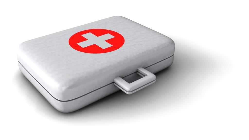 Das benötigte Material für die Erste Hilfe muss im Verbandskasten bzw. -koffer aufbewahrt werden. copyright: pixabay.com