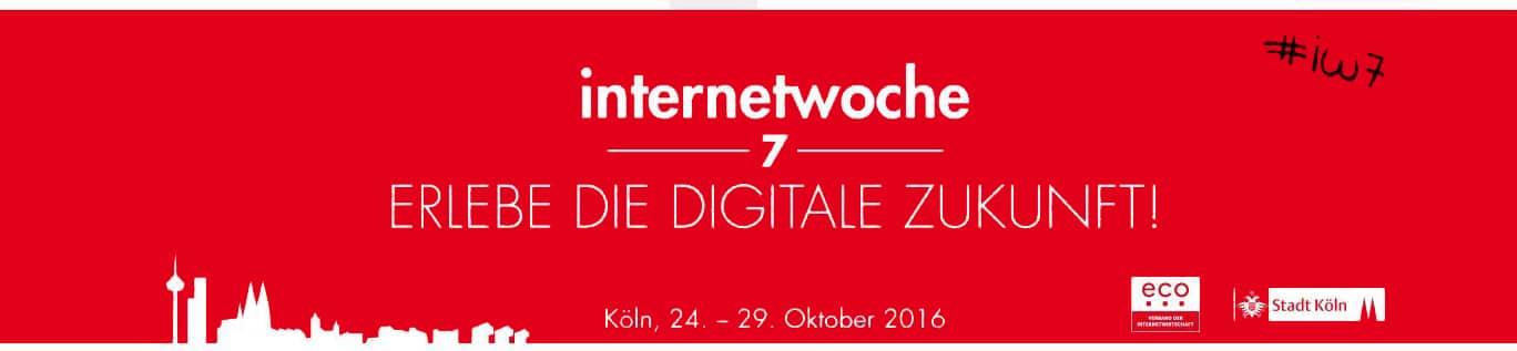 Auswahl Termine Internetwoche, 24. - 29.10.2016 - copright: eco – Verband der Internetwirtschaft e.V.