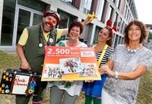Spendenübergabe der Provinzial Rheinland Versicherung an die Kölner Klinik-Clowns e.V. copyright: Rainer Hotz
