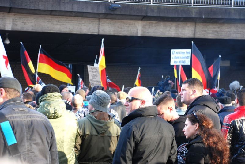 Großeinsatz für die Polizei in Köln-Deutz und Kalk: Vorläufige Bilanz der Demonstration und Gegenkundgebungen - copyright: CityNEWS / Laudenberg (Archivbild)