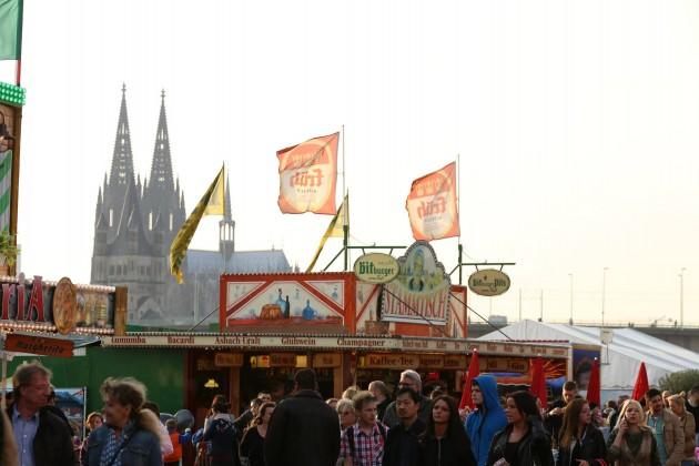 Kirmes in Köln Deutz copyright: Alex Weis / CityNEWS