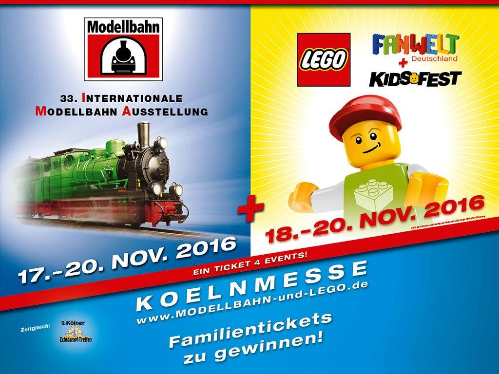 Gewinnspiel: CityNEWS verlost drei Familien-Tickets zur Internationalen Modellbahn Ausstellung - copyright: Messe Sinsheim GmbH