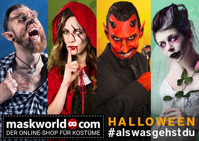 Gewinnspiel: CityNEWS schaurig-schöne Halloween-Pakete - copyright: maskworld.com