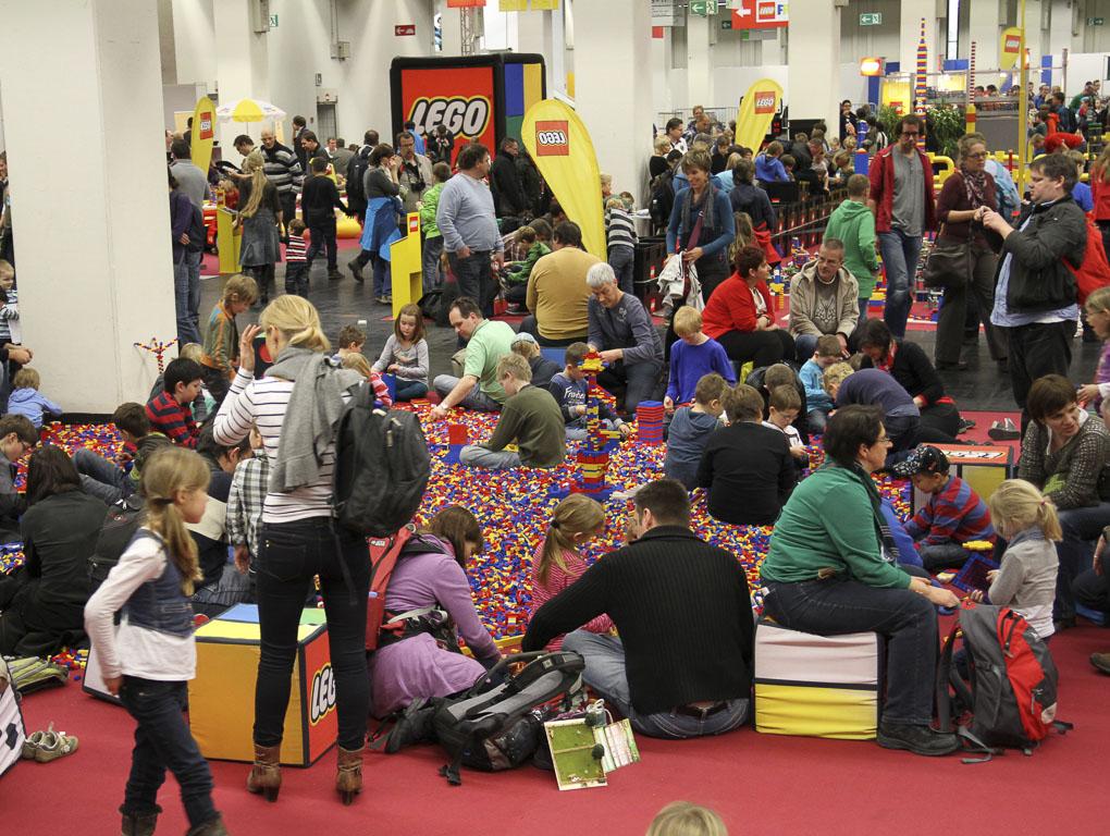 Vier Events von Modellbahn bis LEGO - copyright: Messe Sinsheim GmbH