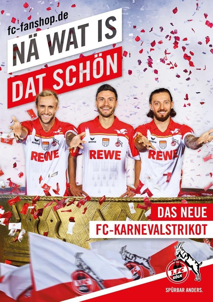 Der 1 Fc Köln Ganz Jeck Sonder Trikot Zu Karneval Citynews