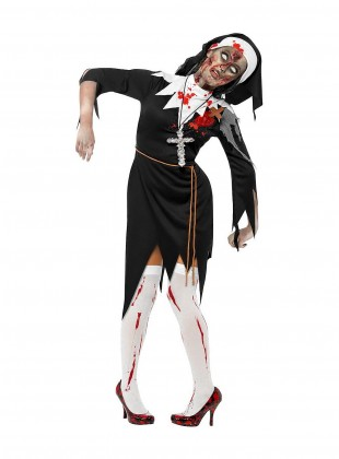 Z - Zombie Nonne - copyright: maskworld.com