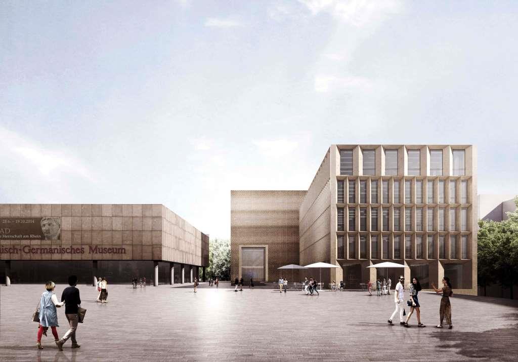 Mit dem 1. Preis wurde der Entwurf des Büros Volker Staab aus Berlin ausgezeichnet