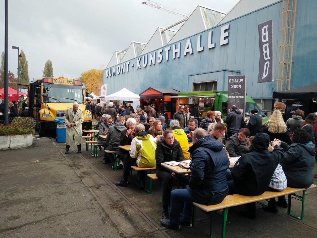 Über 8.000 Besucher: Erfolgreiche Food-Market-Premiere in Köln Niehl - copyright: Veranstalter