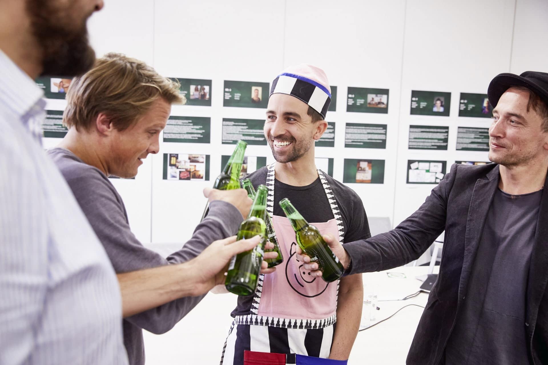 Das Gewinner-Konzept steht nun endlich fest! - copyright: Heineken / Michael Romacker