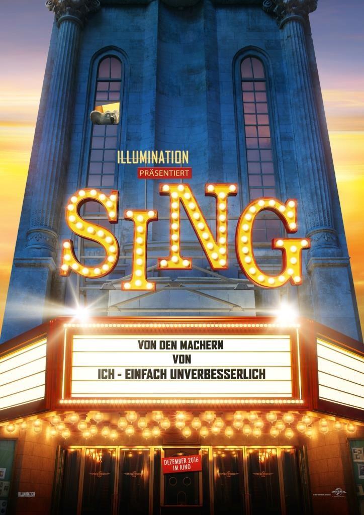 Gewinnspiel: Mit CityNEWS zur exklusiven Kino-Premiere von SING ins Kölner Cinedom - copyright: Universal Pictures Germany