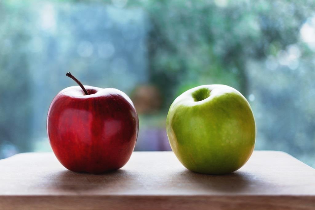 Rot vor Grün: Menschliches Auge bevorzugt rote Lebensmittel copyright: pixabay.com