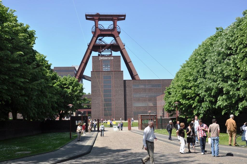 Die Zeche Zollverein in Essen ist ein beliebter Drehort. - copyright: pixabay.com