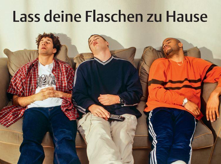 Mehr Spaß ohne Glas - copyright: Stadt Köln