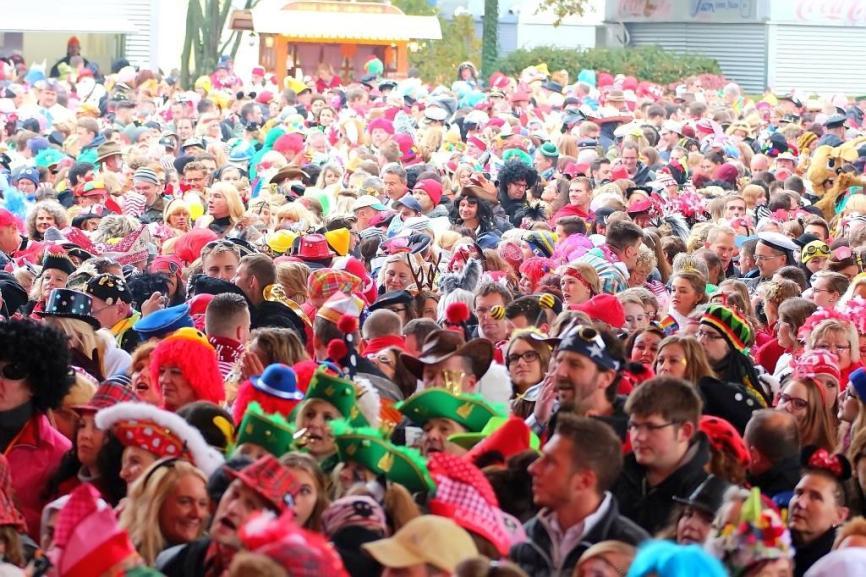 Am 11.11. wird die Karneval-Session eröffnet - copyright: CityNEWS / Thomas Pera
