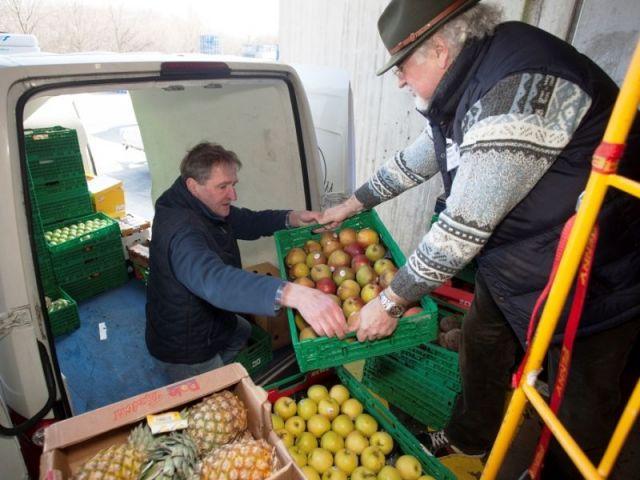 Die Kölner Tafel unterstützt Bedürftige, in dem sie ihnen gespendete Lebensmittel zugänglich macht. copyright: www.weiss-kommunikation.de/ Wolfgang Weiss