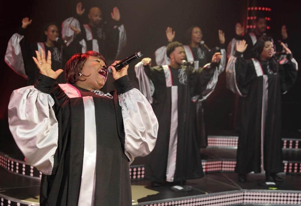 """Eine Ausnahmekarriere mündet in """"The Harlem Gospel Singers"""" - copyright: Thomas Brill"""