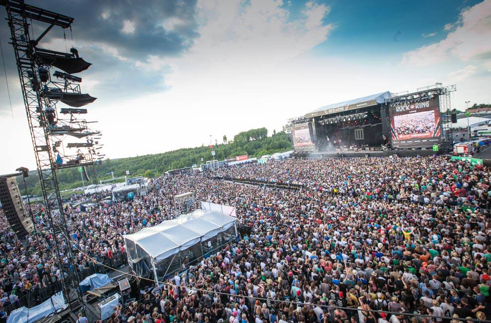 Back to the roots: Rock am Ring kehrt 2017 zurück zum Nürburgring - copyright: CityNEWS / Daniel Berbig
