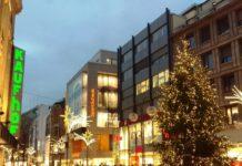 Weihnachts-Shopping beim verkaufsoffenen Sonntag in Köln am 14.12.2019 copyright: CityNEWS