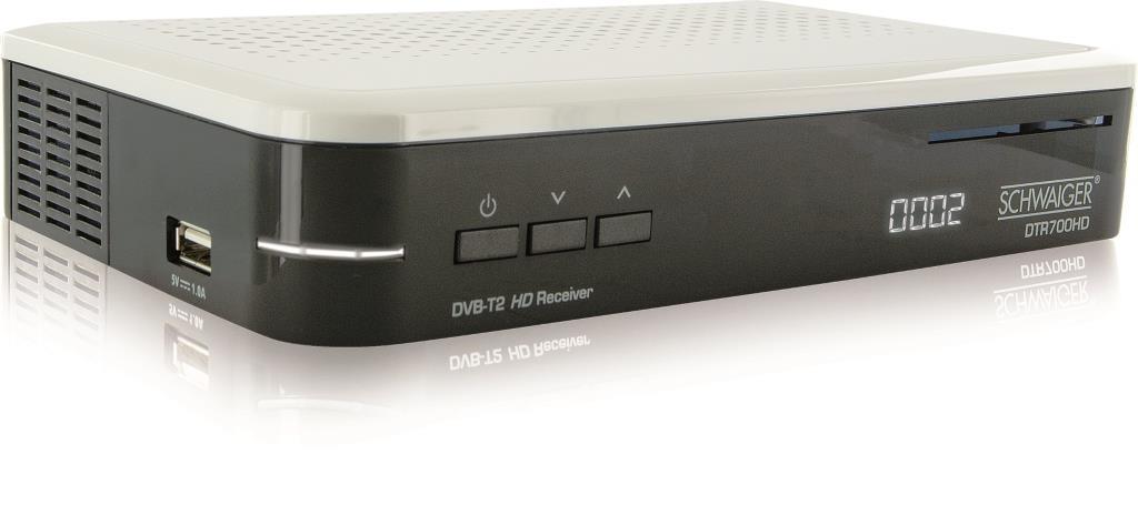 Vorteile des neuen DVB-T2-Receivers - copyright: Schwaiger GmbH